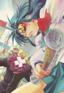Rating: Safe Score: 5 Tags: chidori_kaname full_metal_panic sagara_sousuke seifuku shikidouji User: Radioactive