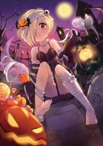 Rating: Safe Score: 53 Tags: bada_(jksh5056) bandages dress feet halloween shirasaka_koume the_idolm@ster the_idolm@ster_cinderella_girls User: Mr_GT