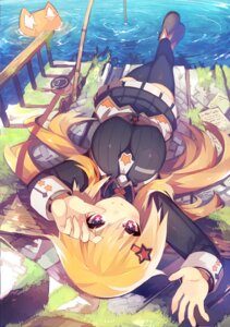 Rating: Safe Score: 66 Tags: mamuru thighhighs User: Hentar