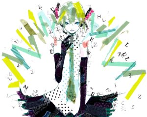 Rating: Safe Score: 10 Tags: hatsune_miku ryono vocaloid User: Radioactive