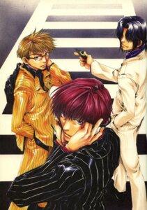 Rating: Safe Score: 4 Tags: bus_gamer male minekura_kazuya mishiba_toki nakajou_nobuto saitou_kazuo User: Radioactive