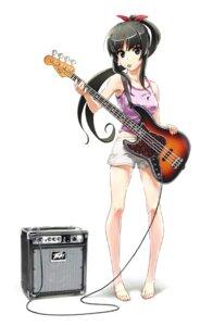 Rating: Safe Score: 25 Tags: akiyama_mio fukukitaru guitar k-on! User: Radioactive