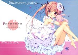 Rating: Questionable Score: 36 Tags: dress miyasaka_miyu niwasaka_rira pantsu skirt_lift thong User: drop