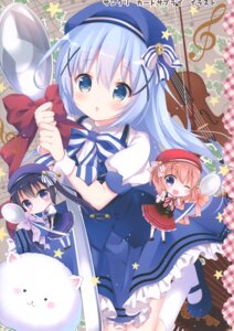 Rating: Questionable Score: 23 Tags: chibi dress gochuumon_wa_usagi_desu_ka? hoto_cocoa kafuu_chino rokudou_itsuki tedeza_rize tippy_(gochuumon_wa_usagi_desu_ka?) User: Radioactive