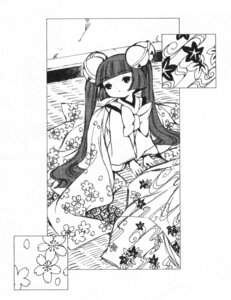 Rating: Safe Score: 7 Tags: chobits clamp kimono kotoko monochrome User: Debbie