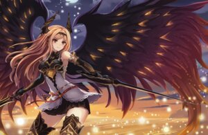Rating: Safe Score: 88 Tags: armor dark_angel_olivia eruthika horns shingeki_no_bahamut sword thighhighs wings User: Mr_GT