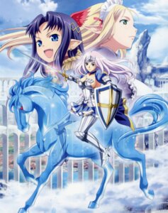 Rating: Safe Score: 25 Tags: annelotte armor elf pointy_ears queen's_blade queen's_blade_rebellion sword tagme vante yuit User: akusiapa