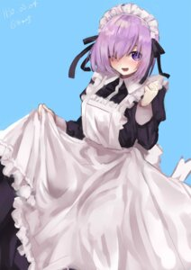 Rating: Safe Score: 13 Tags: fate/grand_order maid mash_kyrielight skirt_lift tagme User: Mr_GT