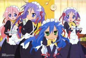 Rating: Safe Score: 24 Tags: hiiragi_kagami hiiragi_tsukasa horiguchi_yukiko izumi_konata lucky_star maid megane takara_miyuki User: blues