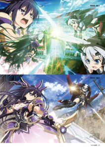 Rating: Safe Score: 7 Tags: armor date_a_live dress gun sword tagme tobiichi_origami yatogami_tooka User: kiyoe
