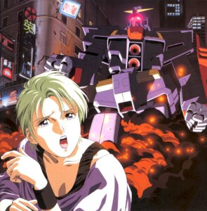 Rating: Safe Score: 5 Tags: four_murasame gundam kitazume_hiroyuki mecha zeta_gundam User: Radioactive