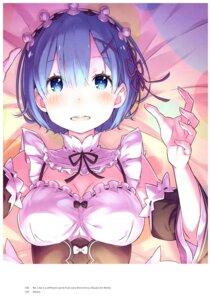 Rating: Safe Score: 42 Tags: cleavage maid ootsuka_shinichirou re_zero_kara_hajimeru_isekai_seikatsu seifuku User: NotRadioactiveHonest