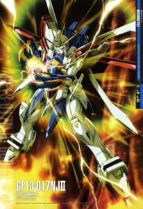 Rating: Safe Score: 18 Tags: g_gundam gundam maeda_seimei mecha User: drop