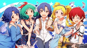 Rating: Safe Score: 18 Tags: ayano_yuu dress emily_stewart guitar julia_(idolm@ster) kisaragi_chihaya the_idolm@ster the_idolm@ster_million_live tokugawa_matsuri toyokawa_fuuka User: animeprincess
