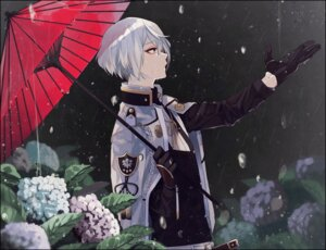 Rating: Safe Score: 16 Tags: higekiri male touken_ranbu umbrella yamada_chikinko User: joshuagraham