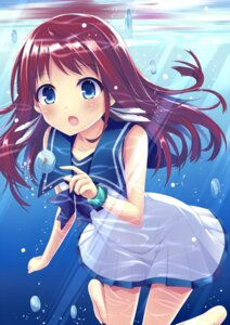Rating: Safe Score: 40 Tags: aixioo mukaido_manaka nagi_no_asukara seifuku User: Animextremist