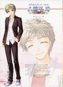 Rating: Safe Score: 5 Tags: bekkankou fortune_arterial hachimandaira_tsukasa male User: admin2