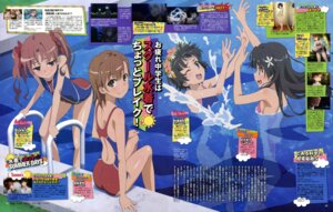 Rating: Safe Score: 24 Tags: kimoto_shigeki misaka_mikoto saten_ruiko shirai_kuroko swimsuits to_aru_kagaku_no_railgun to_aru_majutsu_no_index uiharu_kazari User: PPV10
