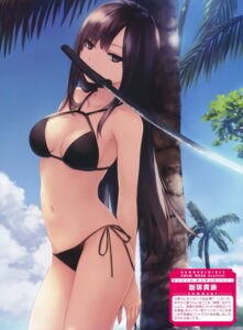 Rating: Questionable Score: 153 Tags: bikini bishoujo_to_wa_kiru_koto_to_mitsuketari cleavage coffee-kizoku kasuga_toru swimsuits sword User: donicila
