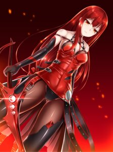 Rating: Questionable Score: 88 Tags: cameltoe cleavage depth_bomb elesis elsword no_bra pantsu pantyhose sword thighhighs User: Mr_GT