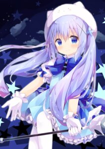 Rating: Safe Score: 21 Tags: dress gochuumon_wa_usagi_desu_ka? kafuu_chino nakkar tippy_(gochuumon_wa_usagi_desu_ka?) weapon User: ryoga828