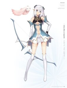 Rating: Safe Score: 75 Tags: altina_mhe-re_sylphith blade_arcus_from_shining_ex cleavage digital_version dress elf no_bra pointy_ears sega shining_blade shining_world thighhighs tony_taka weapon User: Twinsenzw