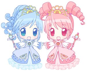 Rating: Safe Score: 3 Tags: chibi dress fine fushigiboshi_no_futago_hime mirai rein User: Manabi