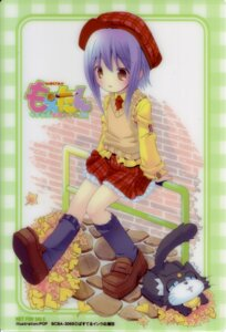 Rating: Safe Score: 9 Tags: card ka-kun kuroi_sumi moetan neko pop seifuku User: admin2