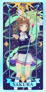 Rating: Safe Score: 37 Tags: card_captor_sakura dangmill kinomoto_sakura seifuku weapon User: Noodoll