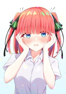 Rating: Safe Score: 13 Tags: 5-toubun_no_hanayome nakano_nino profnote seifuku User: BattlequeenYume