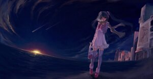 Rating: Safe Score: 43 Tags: christmas hatsune_miku silverwing thighhighs vocaloid User: fireattack