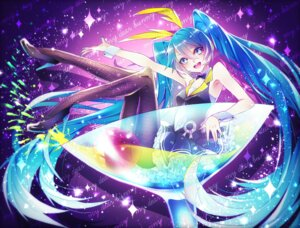 Rating: Safe Score: 23 Tags: 1055 dress fishnets hatsune_miku heels pantyhose vocaloid User: charunetra