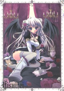 Rating: Questionable Score: 33 Tags: hisuitei izumi_tsubasu neko paper_texture wings User: admin2