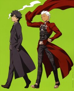 Rating: Safe Score: 3 Tags: archer emiya_kiritsugu fate/stay_night male takeuchi_takashi type-moon User: Velen