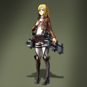 Rating: Safe Score: 17 Tags: cg christa_lenz shingeki_no_kyojin User: Radioactive