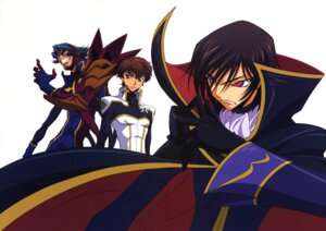 Rating: Safe Score: 7 Tags: code_geass jeremiah_gottwald kururugi_suzaku lelouch_lamperouge male sakamoto_shuuji User: Aurelia