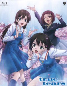 Rating: Safe Score: 9 Tags: ando_aiko disc_cover isurugi_noe screening seifuku true_tears yuasa_hiromi User: Prishe