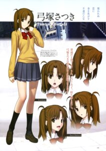 Rating: Questionable Score: 26 Tags: character_design expression seifuku tsukihime yumizuka_satsuki User: drop