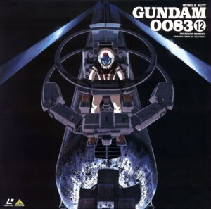 Rating: Safe Score: 6 Tags: disc_cover gundam gundam_0083 kawamoto_toshihiro mecha uraki_kou User: Radioactive