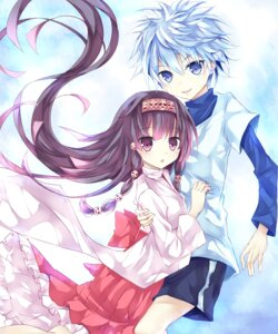 Rating: Safe Score: 18 Tags: alluka_zaoldyeck hunter_x_hunter killua_zaoldyeck male miko mizumidori trap User: Radioactive