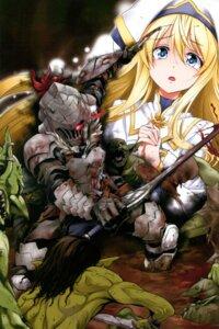 Rating: Safe Score: 21 Tags: armor blood goblin_slayer goblin_slayer_(character) kurose_kousuke monster priestess sword User: kiyoe