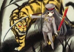 Rating: Safe Score: 10 Tags: eyepatch fixme gap nabeshima_tetsuhiro sword uniform User: midzki