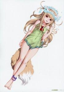 Rating: Safe Score: 44 Tags: animal_ears holo koume_keito skirt_lift spice_and_wolf tail User: kiyoe