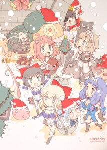 Rating: Safe Score: 4 Tags: chibi christmas okome_(ricecandy) ragnarok_online User: Radioactive