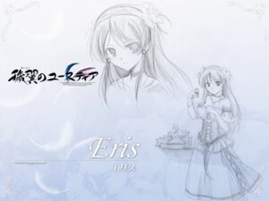 Rating: Safe Score: 12 Tags: aiyoku_no_eustia august bekkankou eris_floralia sketch wallpaper User: Devard