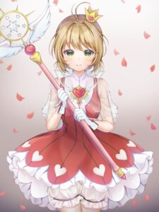 Rating: Safe Score: 19 Tags: bloomers card_captor_sakura dress kinomoto_sakura poe_(528yuzunon) see_through weapon User: charunetra