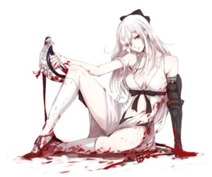Rating: Questionable Score: 45 Tags: blood cleavage drakengard_3 sasa_0205 sword zero_(drakengard) User: tbchyu001