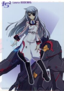 Rating: Safe Score: 39 Tags: eyepatch infinite_stratos laura_bodewig seifuku User: fireattack