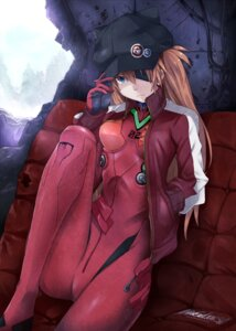 Rating: Safe Score: 32 Tags: bodysuit eyepatch neon_genesis_evangelion pokimari souryuu_asuka_langley User: Radioactive