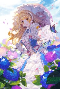 Rating: Safe Score: 51 Tags: dress lolita_fashion love_live! minami_kotori pudding_(artist) umbrella User: Mr_GT